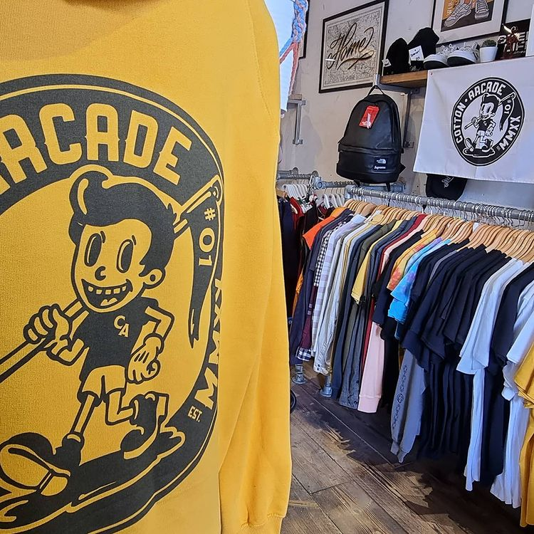Cotton arcade jumper in Re_owned