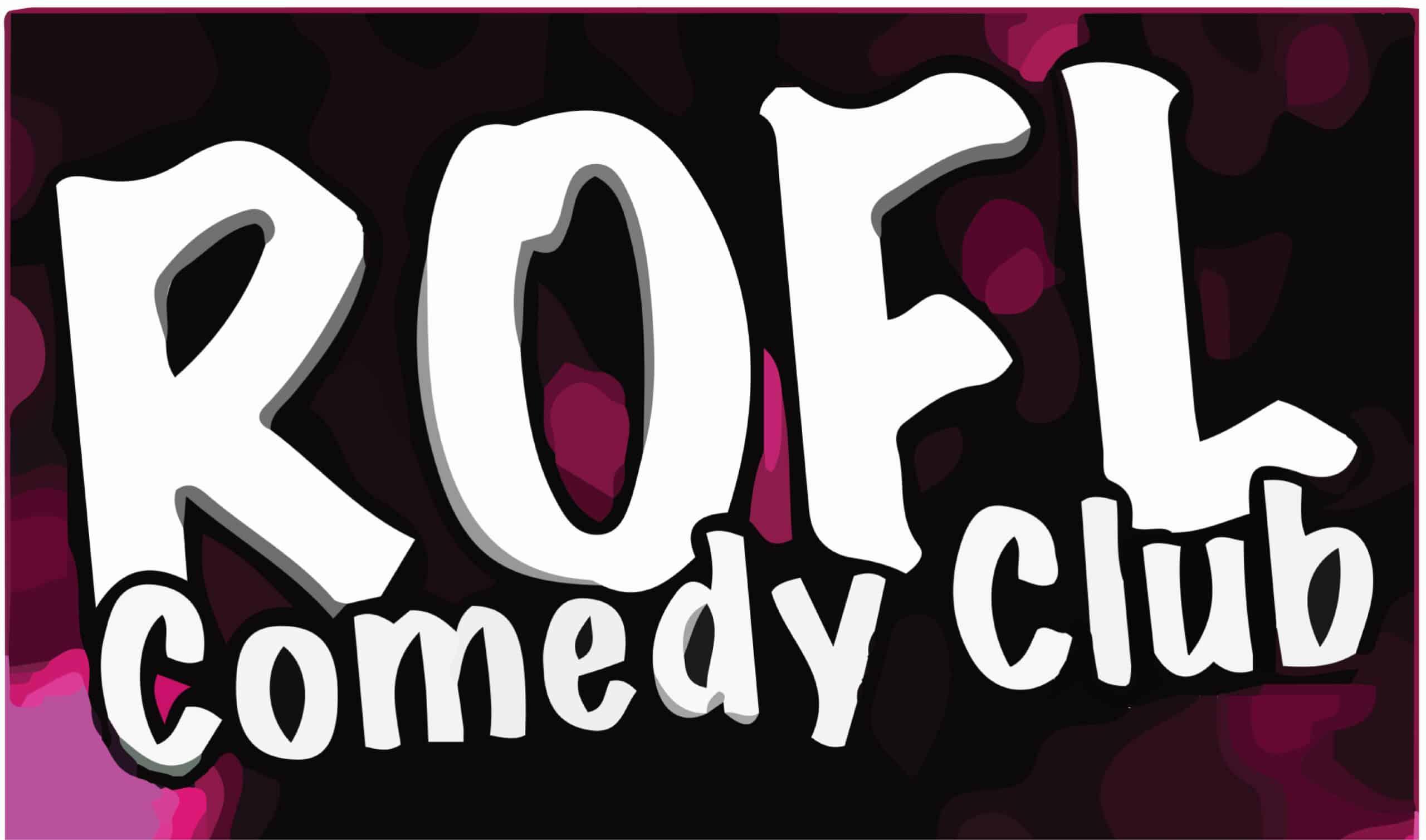 ROFL comedy clubs logo