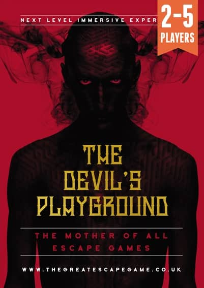 The Devils playground from Sheffield escape room TGEG