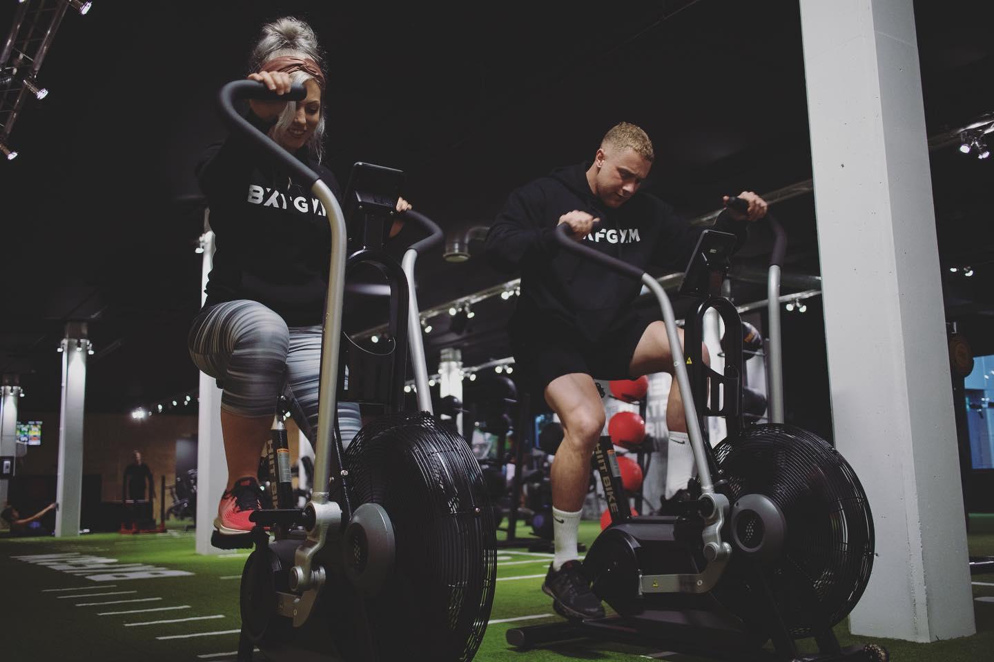 BXF Gyms assault bike sprint