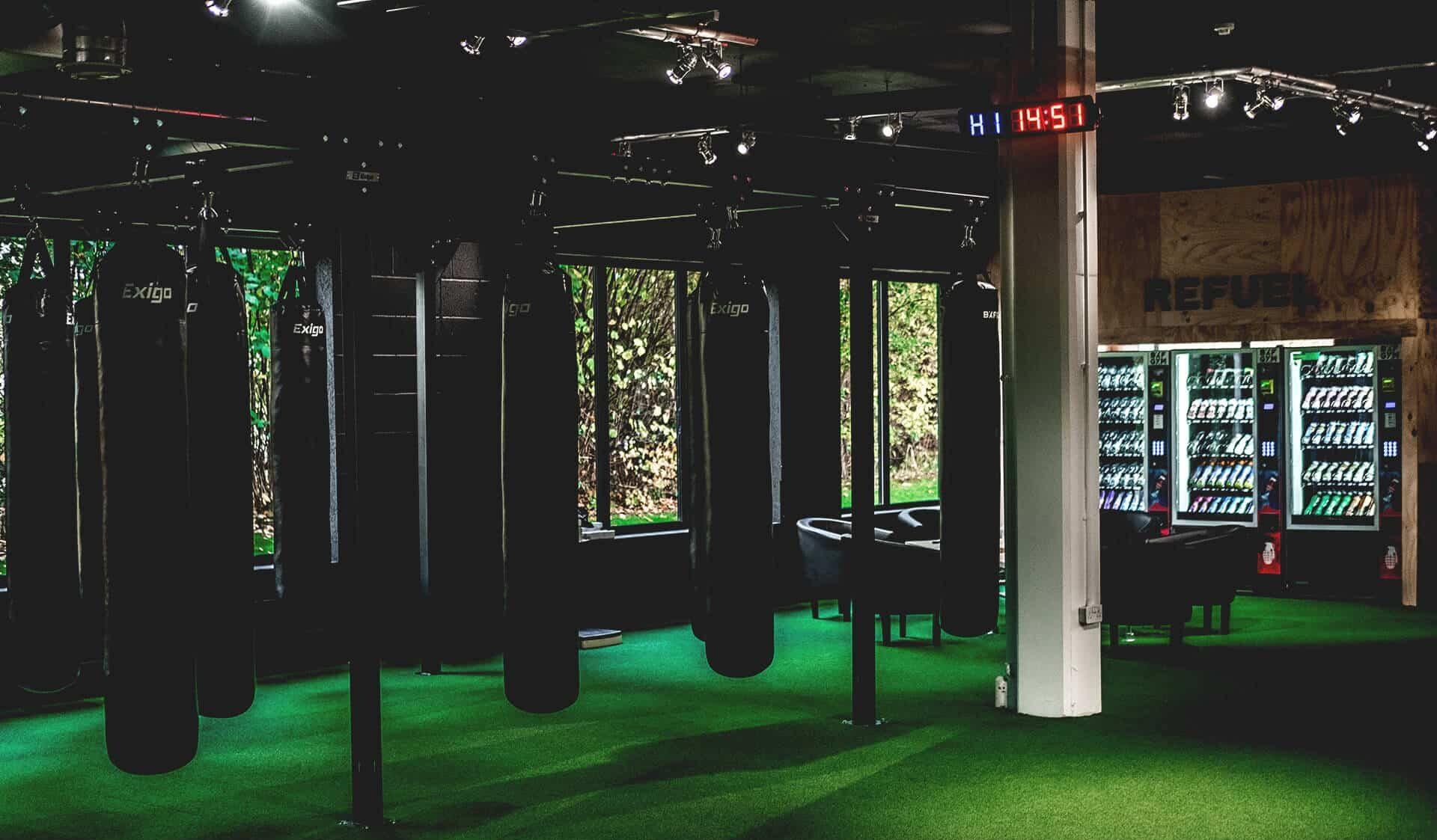 Refuel zone in BXF Gyms